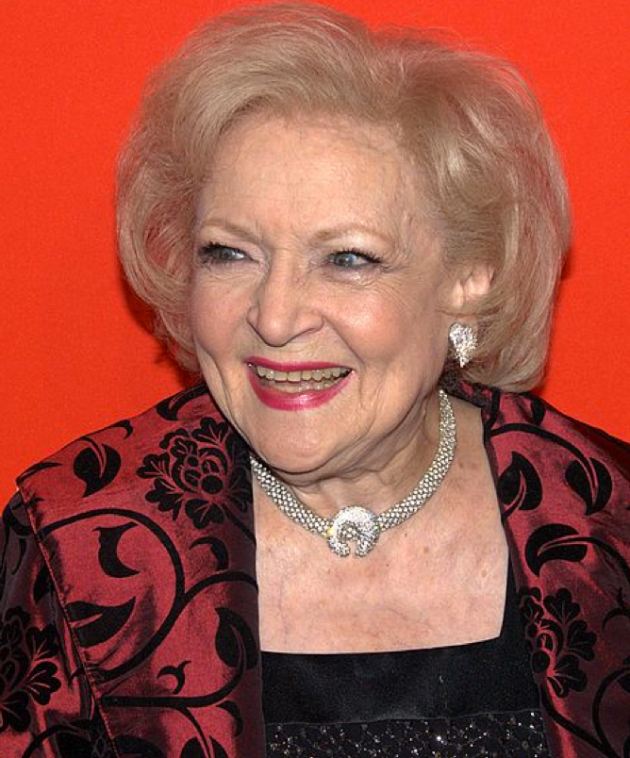 Wikimedia Commons -- Betty White David Shankbone 2010 NYC
